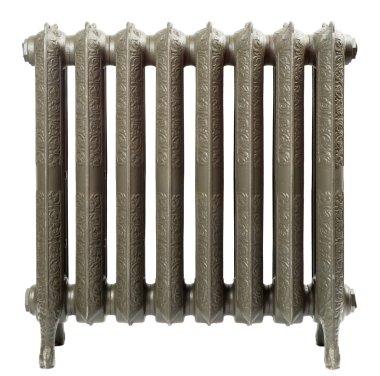 A cast iron radiator