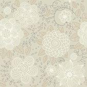 Květinové vinobraní bezešvé vzor pro retro tapety