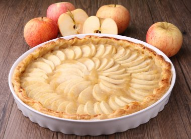 Delicious apple tart