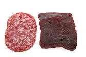 izolované maso na bílém pozadí