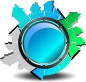 Photo Blue button download