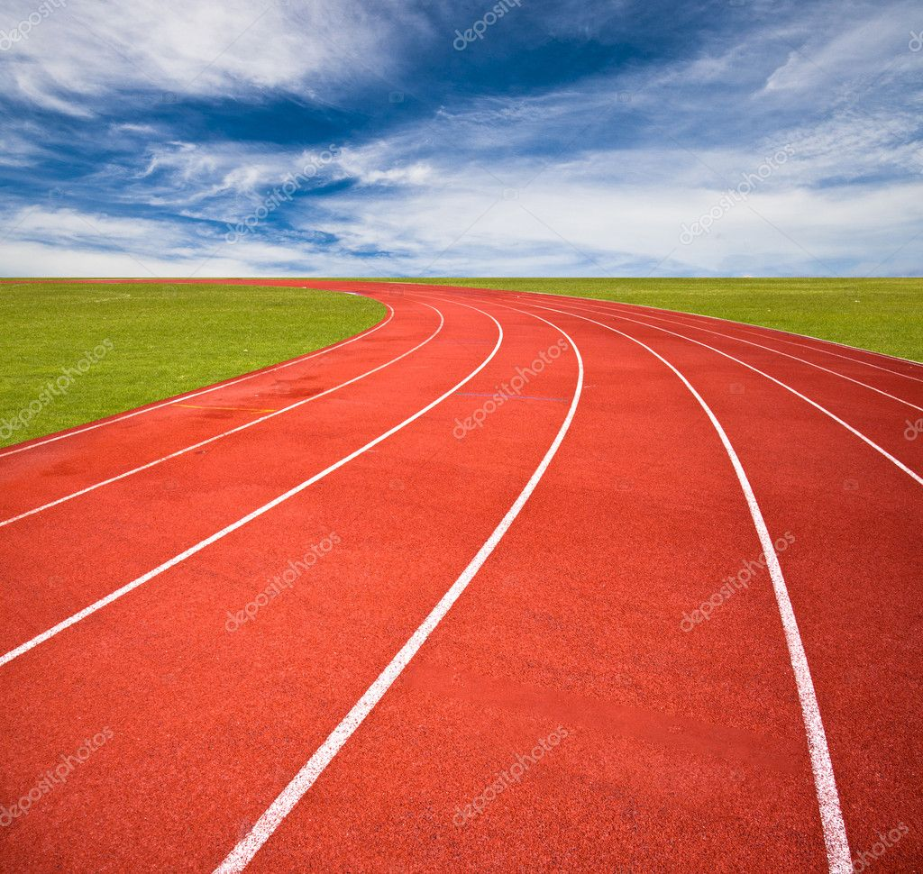 Running track — Stock Photo © zippar #10649693