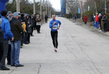 Shelest Oleksiy wins second place at the 35,000 meters race walk
