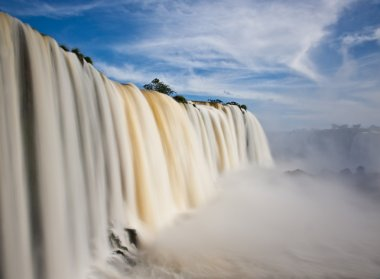 Iguazu falls, one of the new seven wonders of nature.