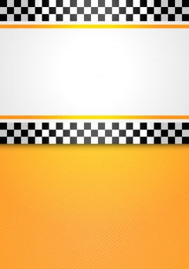Taxi cab blank background