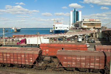 Port of Odessa.