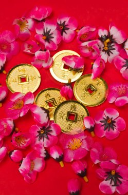 Chinese New Year - Emperor's Coins Ornaments II