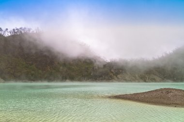 Blue Sky Green Lake