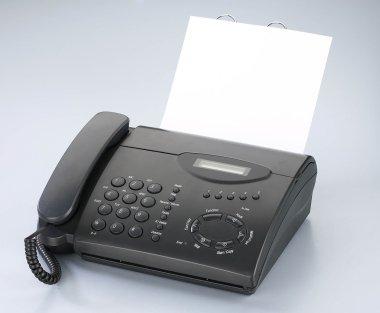 Telephone or fax machine