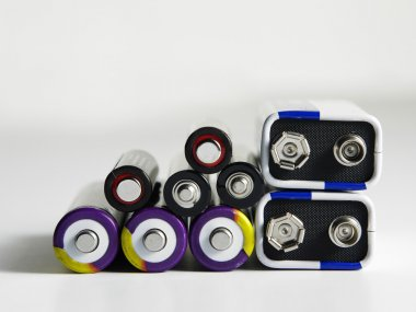 Few different type of battery