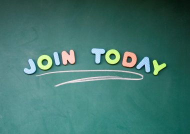 Join today title