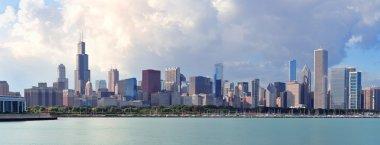 Чикаго над озером Мичиган