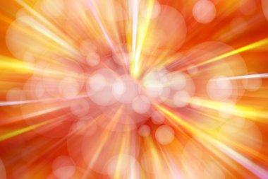 Bright blast of light background stock vector