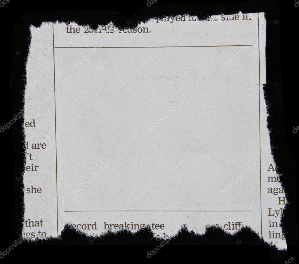 newspaper clipping � stock photo 169 stillfx 9712893