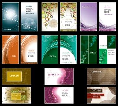 Business Card Templates. Vector Design.