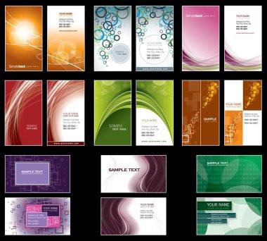Business Card Templates. Vector Design. Eps10 Format.