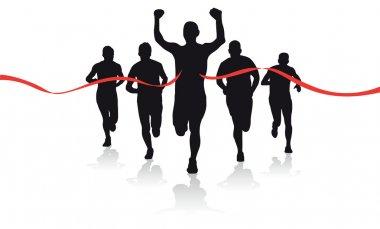 A group of runner
