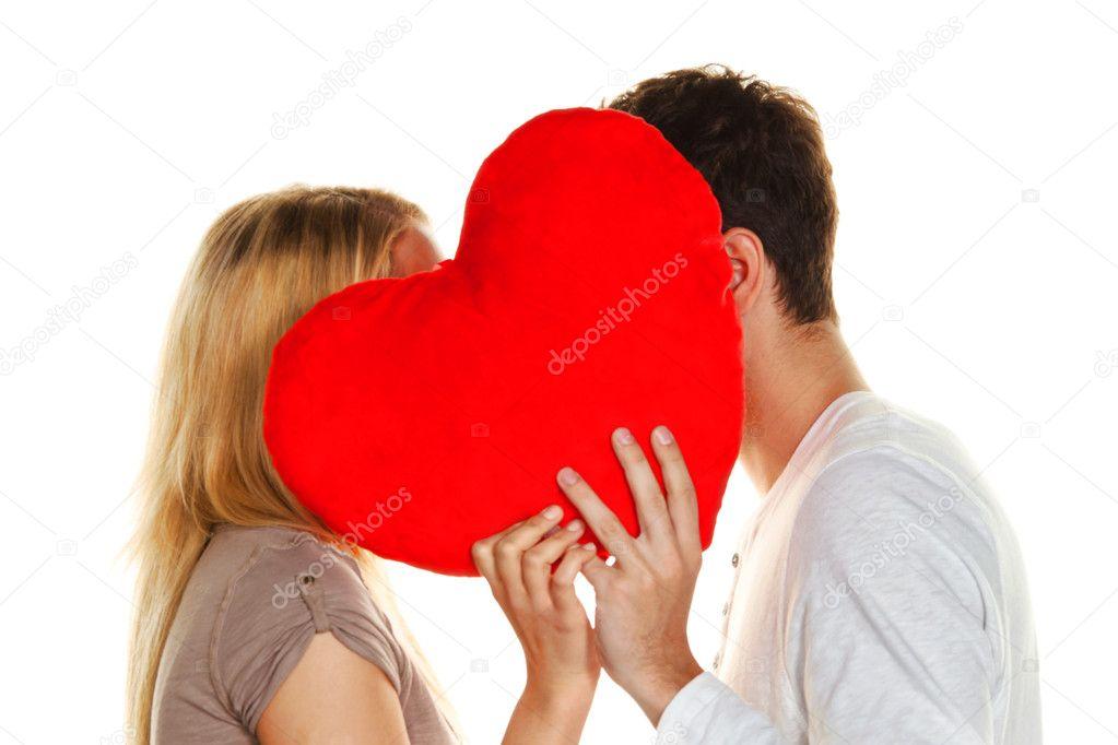Flirten bis zum kuss