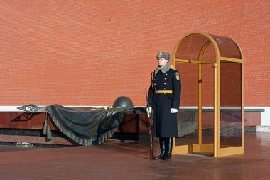 Tomb of the Unknown Soldier, Moscow.