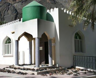 The mosque in village Bilad Sayt, sultanate Oman