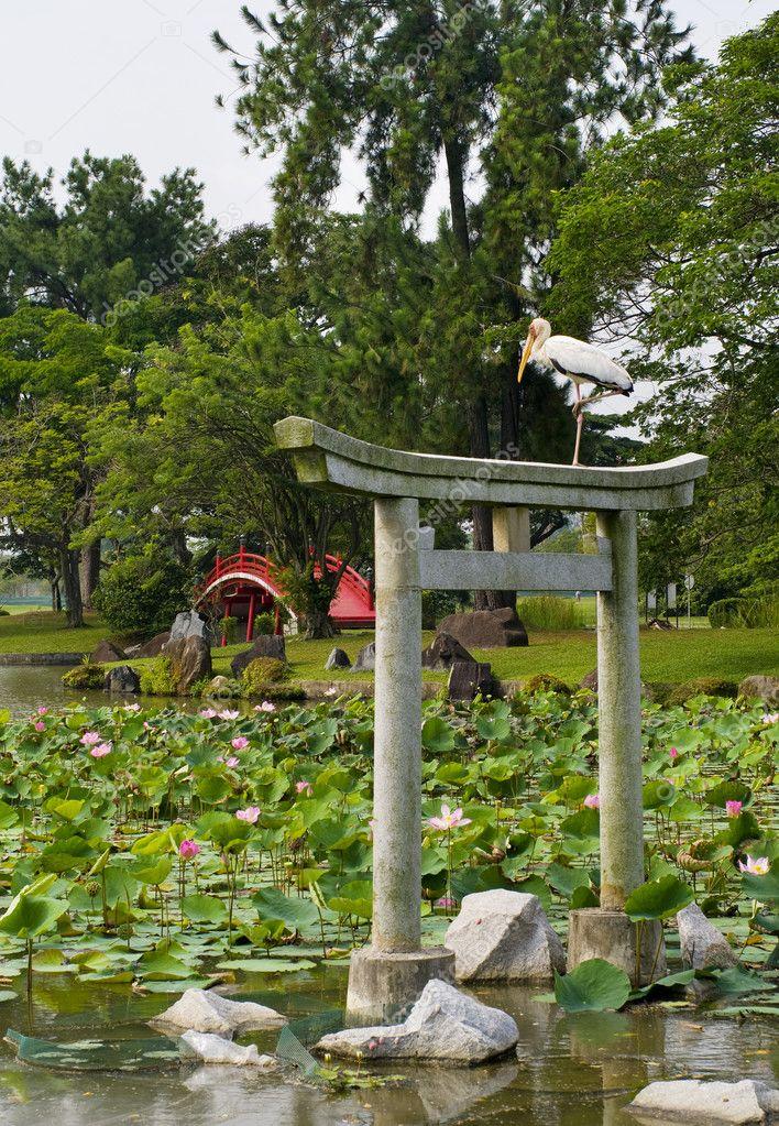 Japanese Garden Landscaping Japanese garden landscape in singapore stock photo byelikova japanese garden landscape in singapore stock photo workwithnaturefo