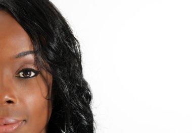Beautiful Black Woman, Headshot (37)