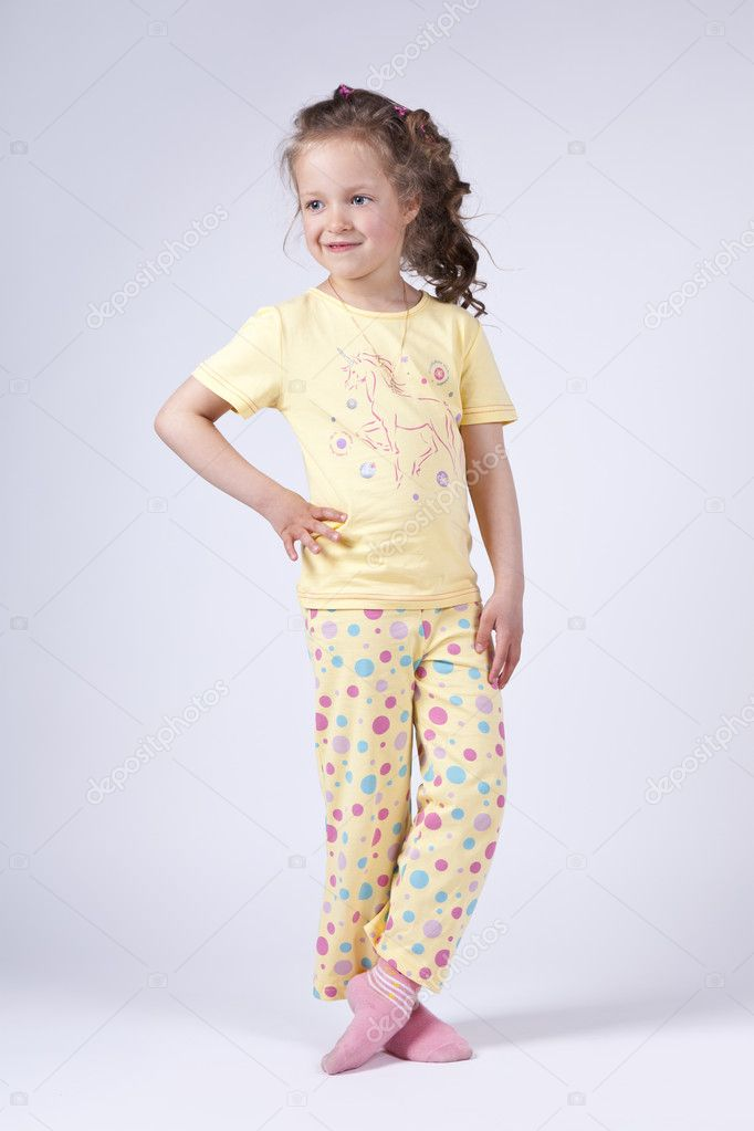 Cute Little Girl Pajamas Breeze Clothing