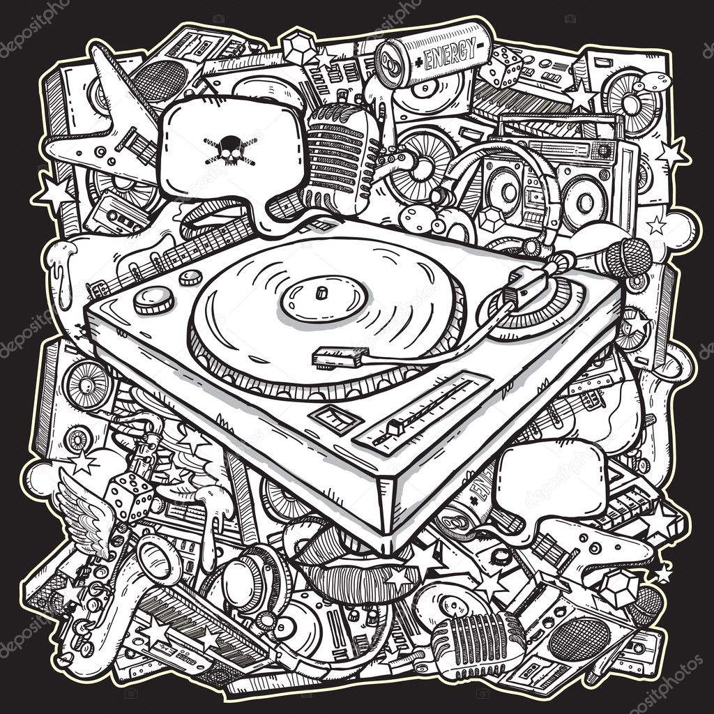 Music mix background