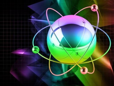 Multicolored atom