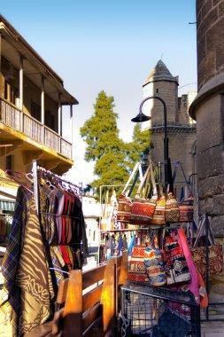 Shopping in an Antique Bazaar