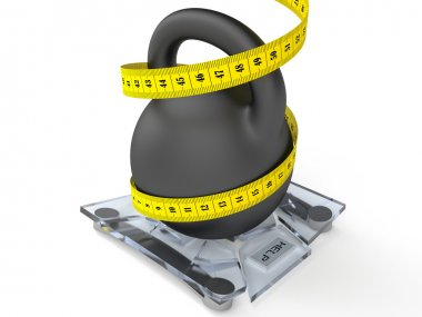 Weight on the scales