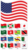 Photo Vector Flag Collection