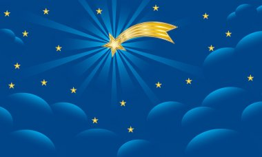 Star of Bethlehem - Christmas Background