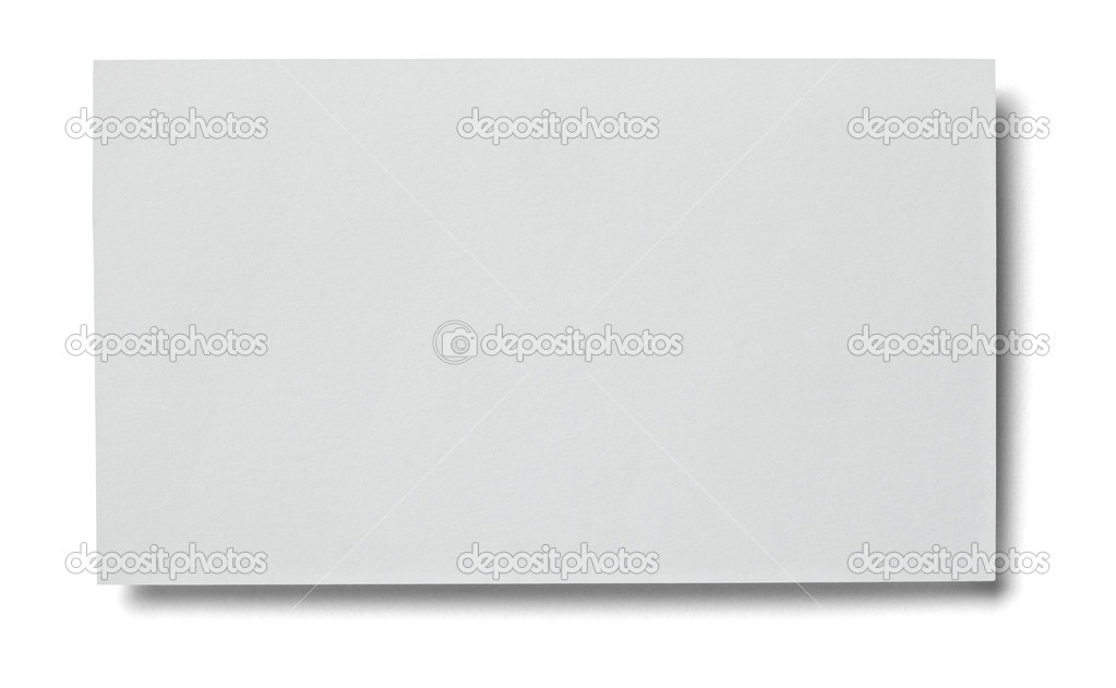 Leaflet letter business card white blank paper template — Stock ...
