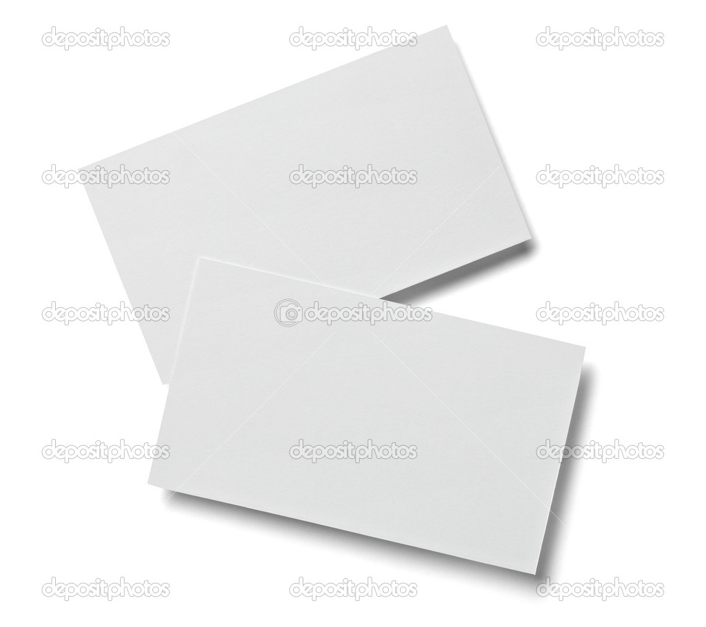 Leaflet letter business card white blank paper template — Stock ...