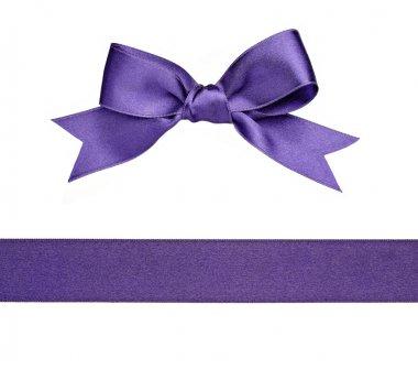 Knot ribbon greeting gift