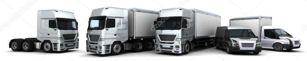 Fleet of Delivery Vehicles