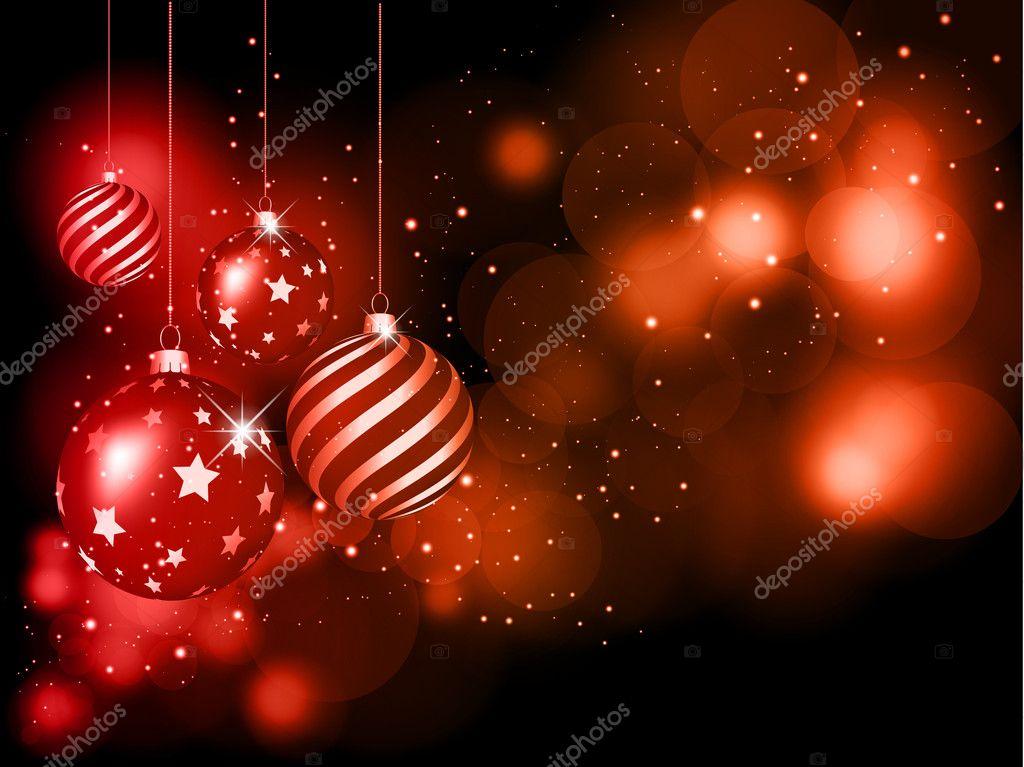 Christmas Bauble Hintergrund — Stockfoto © kjpargeter #9353249