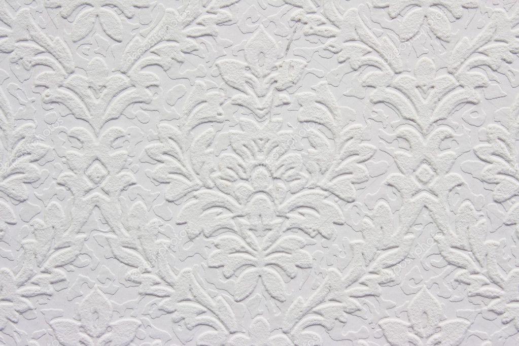 vintage wei florales muster tapete stockfoto 9410273. Black Bedroom Furniture Sets. Home Design Ideas
