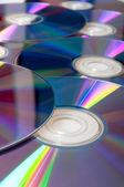 kompaktní disky pozadí