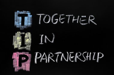 TIP acronym, together in partnership