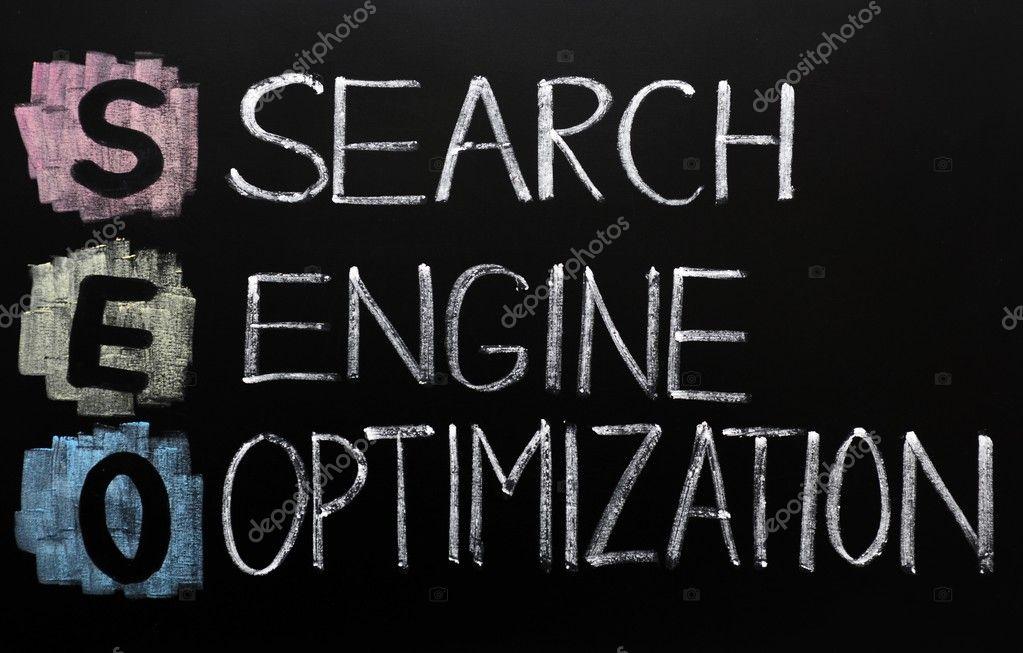 SEO acronym - Search engine optimization