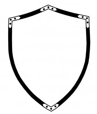 Isolated 16th Century War Shield