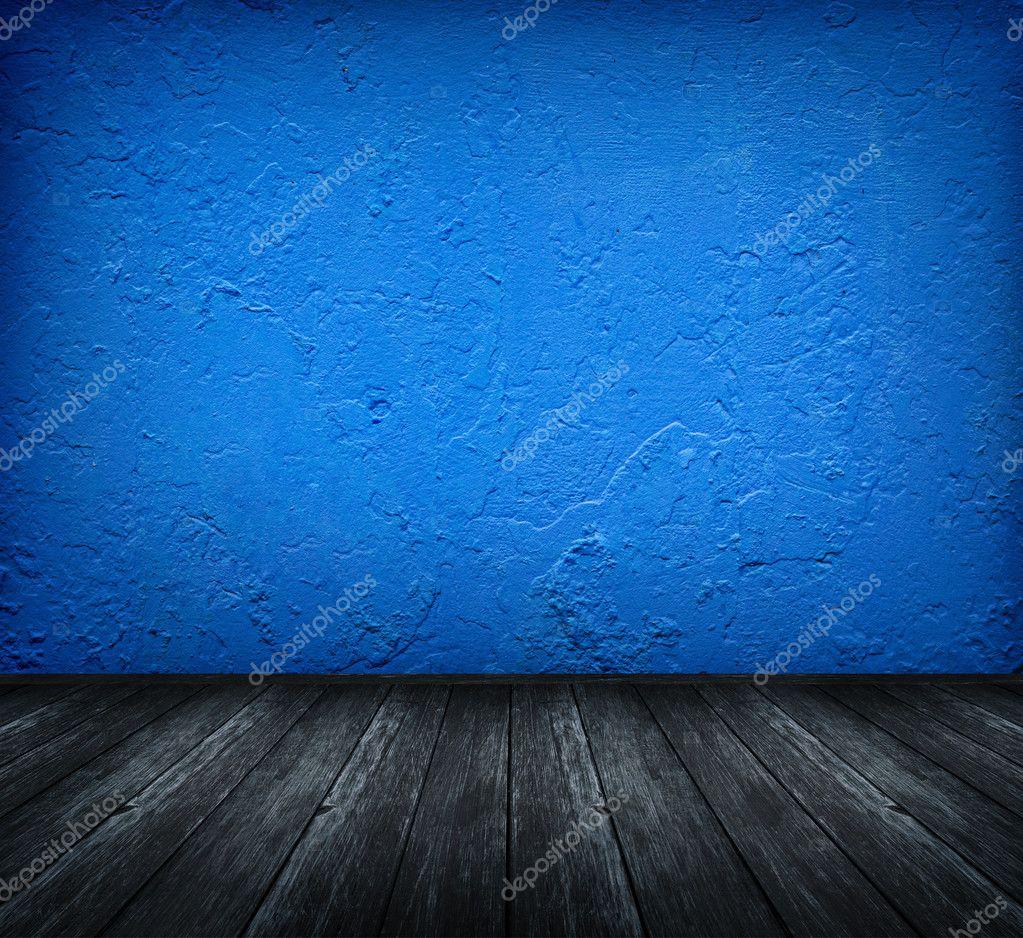 Dark Blue Room Stock Photo Ashumskiy 9820532