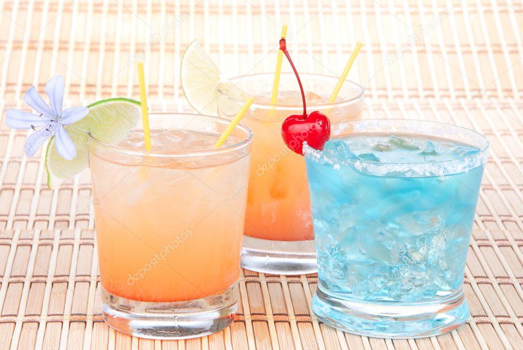 Alcohol margarita cocktails, long island Iced tea