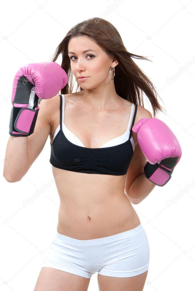 sport femme boxe gants bo 238 te photo 9101972