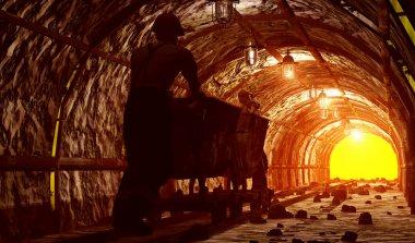 The mine.
