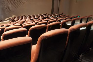 Chairs in modern theatre
