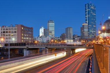 Boston Skyline from Harborwalk