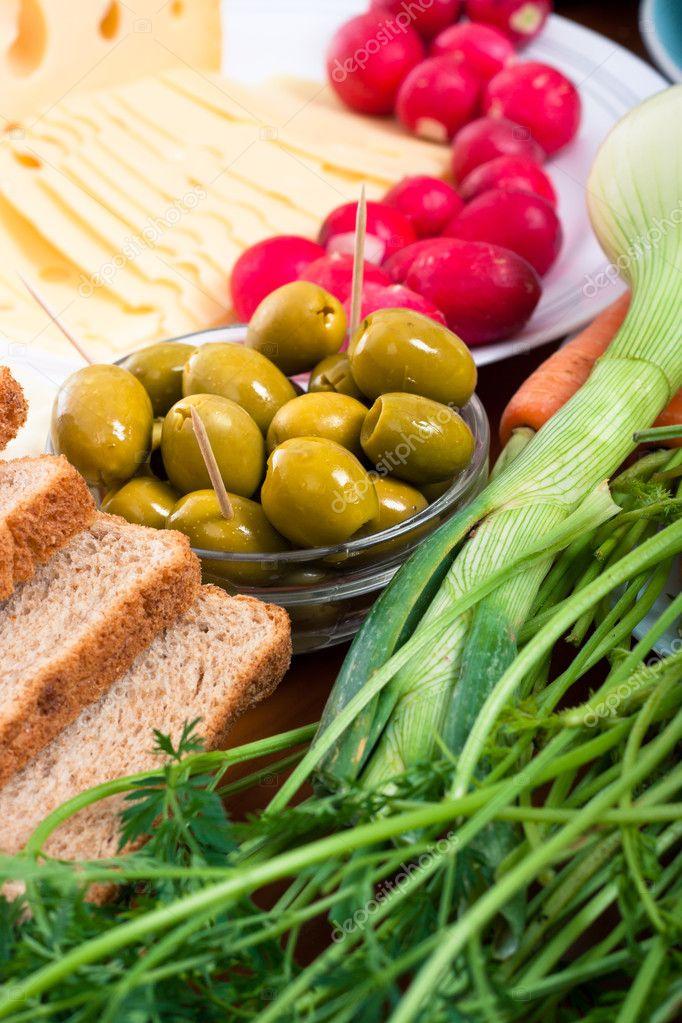 oliven obst oder gemüse